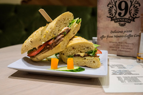 Niners Coffee Corner Sandwich